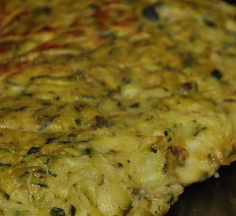 Frittata farina di Ceci e zucchine