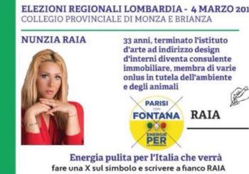 Anche Nunzia Raia candidata in Regione Lombardia