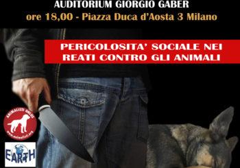 Pericolosità sociale nei reati contro gli animali