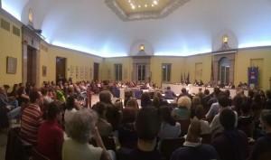 Dibattito animalisti insubria a Busto Arsizio 15 aprile 2014, tra l'Associazione Animalisti Onlus e l'Università Insubria.