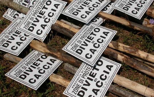 Petizione NO caccia - Codice civile art. 842